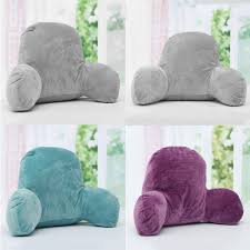 cheap bed rest pillow decoration bolster pillow with arms best bed chair pillow cheap