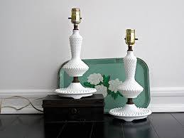 Glass Lamps The Beautiful Style And Design Of Vintage Milk Glass Lamps
