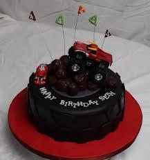10 best birthday cakes images on pinterest monster jam cake