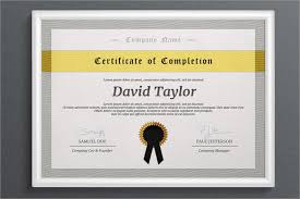 7 free certificate of completion templates word excel pdf templates