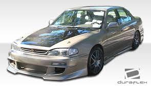 1996 toyota corolla front bumper 1992 1996 toyota camry duraflex front bumper cover 1pc
