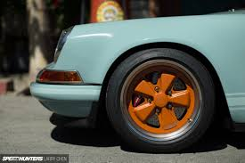 vintage porsche wheels the perfect 911 singer does it again speedhunters