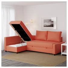 Orange Sofa Chair Friheten Corner Sofa Bed With Storage Skiftebo Dark Orange Ikea