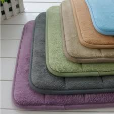 Memory Foam Rugs For Bathroom Memory Foam Rug Bathroom Soft Mat Bedroom Non Slip Mats Shower