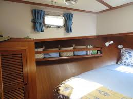 Curtains For A Cabin Transforming The Trawler Kindred Spirit