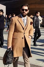men s camel overcoat tan wool double breasted blazer white dress