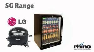glass door commercial refrigerator bar fridges australia rhino green sense plus energy efficient