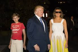 Donald Trump Houses Fashion Notes Melania Barron Trump Return To White House In