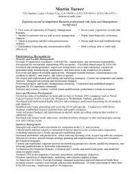 best property management resume