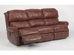 Flexsteel Power Reclining Sofa Flexsteel Living Room Leather Power Reclining Sofa 1227 62p