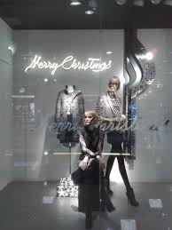 displayhunter zara black and silver christmas