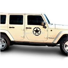 jeep body the us army star sticker car whole body decal for jeep toyota ford