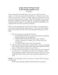 Example Essay Prompts Sample College Essay Topics