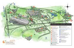 orange county convention center map area information orange county convention center