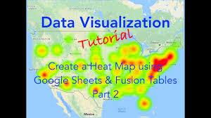 Chicago Google Maps by Data Visualization Create Heat Maps Using Google Sheets And