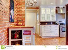 cuisine en dur cuisine cuisine brique blanche cuisine brique blanc as well as