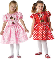 Minnie Mouse Clothes For Toddlers Minnie Mouse Girls Fancy Dress Disney Animal Cartoon Book Day Kids