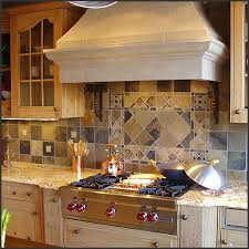 Tile Medallion Backsplash by Kitchen Tile Backsplash Design Ideas
