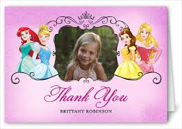 printable thank you cards princess printable thank you cards free sle exle format free