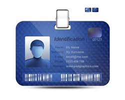 Id Card Design Psd Free Download 50 Best Identification Images On Pinterest Badges Id Badge And