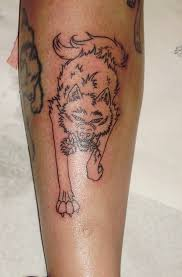 wolf tattoo kiba by tattooavenue on deviantart