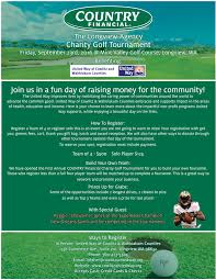 united way country financial golf tournament kelso longview