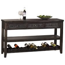 sofa table design sofa table wine rack fascinating vintage design