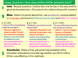 thesis statement for the crucible the crucible essay prompts crucible essay question how to write a english literature miss ryan s gcse english media page if a question seems very broad you the crucible research paper