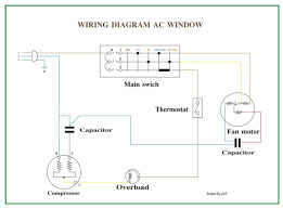 window ac unit wiring diagram wiring diagram