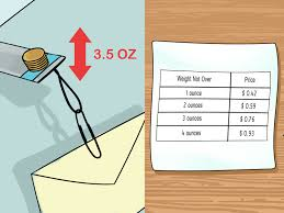 how to create a letter postage scale 13 steps with pictures