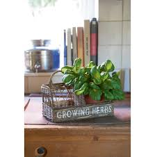 rustic rattan kitchen herb garden various kitchen and eating