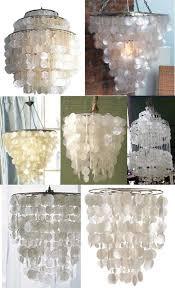 Capiz Shell Light Fixtures Low To High Capiz Shell Chandeliers