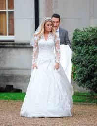 wedding dress cast the towie cast threw nanny pat a royal wedding themed 80th