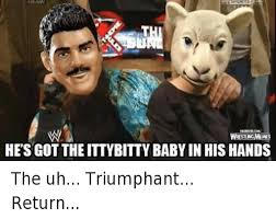 Triumphant Baby Meme - sting res hesgottheittybitty baby in his hands the uh triumphant