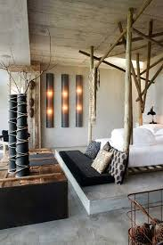 tree house wood interior design nature