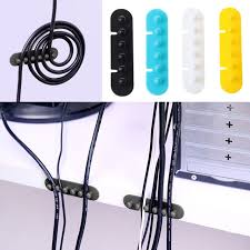 Cable Organizer Desk 1pair Cable Winder Holder Cable Organizer Management Desk