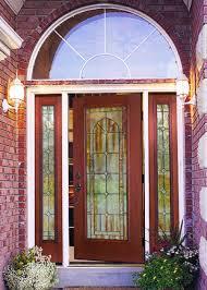 front door glass bathroom red therma tru entry doors with black handle plus lamp