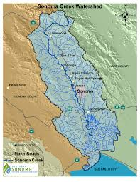Map Of Sonoma County Southern Sonoma County Resource Conservation District Sonoma