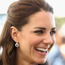 kate middleton diamond earrings sapphire diamond oval drop earrings kate middleton earrings