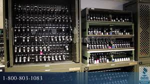 Ammo Storage Cabinet Secure Storage For Military Armory Rfid Inventory Tracking