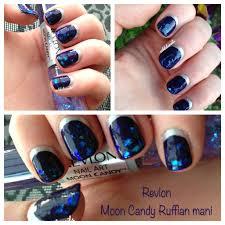 nail art ruffian manicure youtube nailificent navy and gold