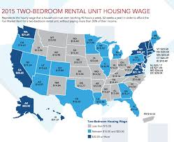 how much you need to make per hour to afford a rental in the u s