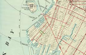 New York Gang Map by H P Lovecraft U0027s Very Bizarre Hatred Of Red Hook And Brooklyn