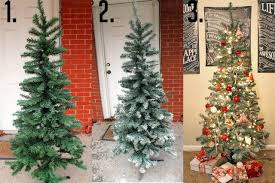 frosted christmas tree projects snow frosted christmas tree diy