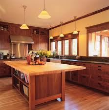 kitchen wood tile floor ideas cabinets black table white stone