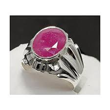 natural ruby rings images Buy handmade natural ruby ring for men handmade silver ring online jpg