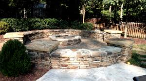 Outdoor Fire Places by Outdoor Fireplaces U0026 Fire Pits U2013 Piedmont Carolina Landscaping