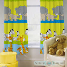 Yellow Curtains Nursery Childrens Nursery Curtains Junior Tweens Top Pencil