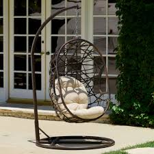 awesome outdoor swing chair with stand about remodel interior
