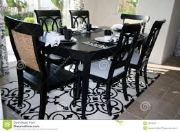 wonderful black and white dining room sets back to intended